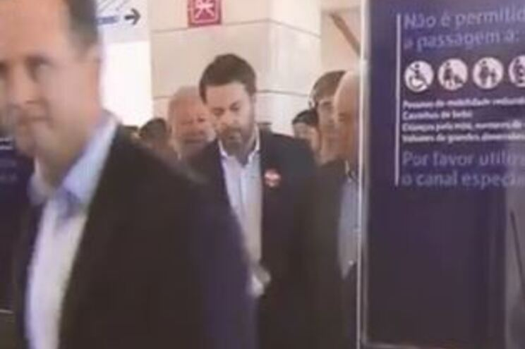 Governante andou de metro e validou bilhete