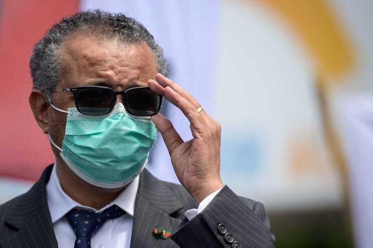 O diretor-geral da Organização Mundial de Saúde, Tedros Adhanom Ghebreyesus