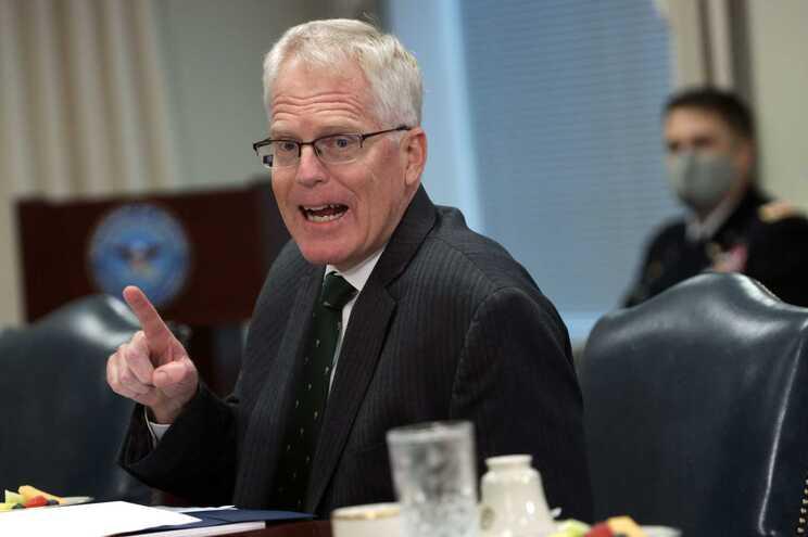 Secretário da Defesa norte-americano em exercício, Christopher Miller