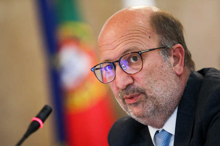 O ministro do Ambiente e da Ação Climática, João Pedro Matos Fernandes