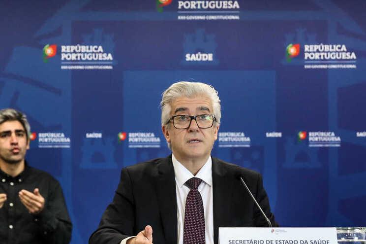Secretário de Estado Adjunto e da Saúde, António Lacerda Sales
