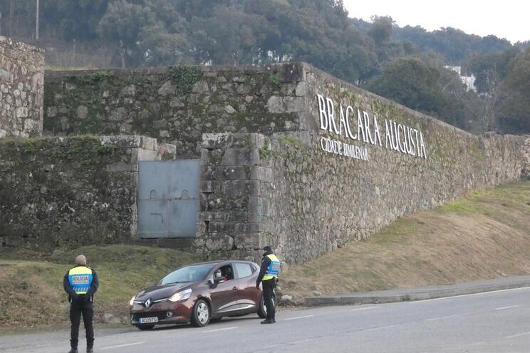 A PSP intensificou a fiscalização este fim de semana em Braga