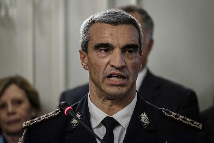 O diretor nacional da PSP, Manuel Augusto Magina da Silva
