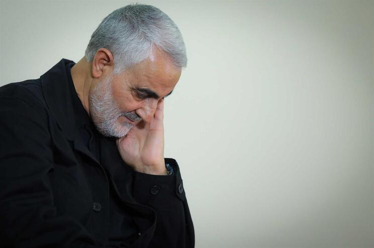 O general Qassem Soleimani