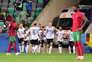 Portugal perdeu com a Alemanha este domingo