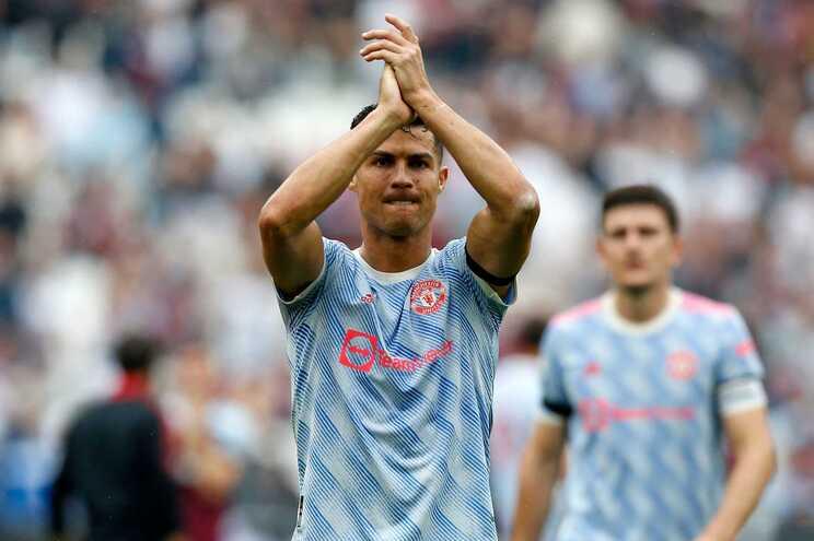 Cristiano Ronaldo tem quatro golos em três jogos pelo Manchester United