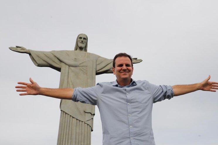 O autarca da cidade brasileira do Rio de Janeiro, Edurado Paes