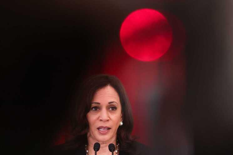 A vice-presidente dos EUA Kamala Harris
