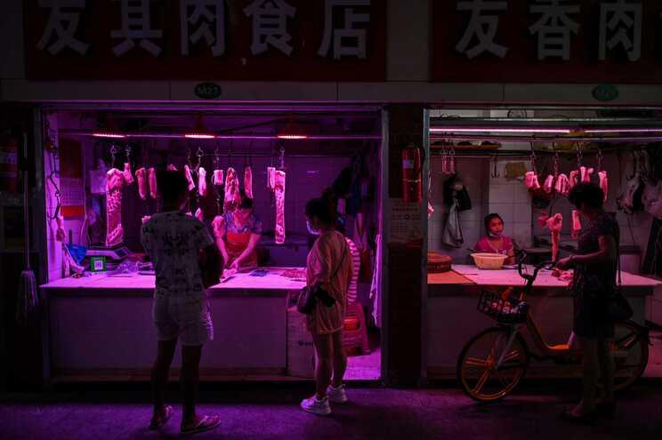 A carne, com um peso total de quase 93 toneladas, foi enviada do Brasil entre 12 e 19 de junho e chegou
