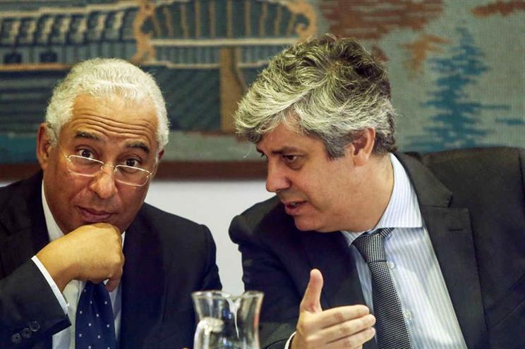 Primeiro-ministro e o ministro das Finanças