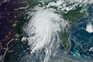 Furacão Larry sucede ao furacão Ida (imagem de satélite)