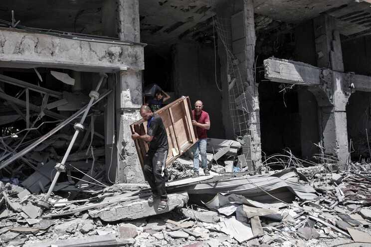Conflito entre Israel e Palestina intensificou-se desde a semana passada