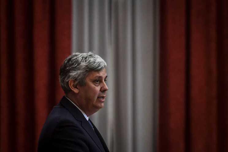 O governador do Banco de Portugal, Mário Centeno