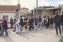 Consternação no funeral de aluna que morreu na Polónia