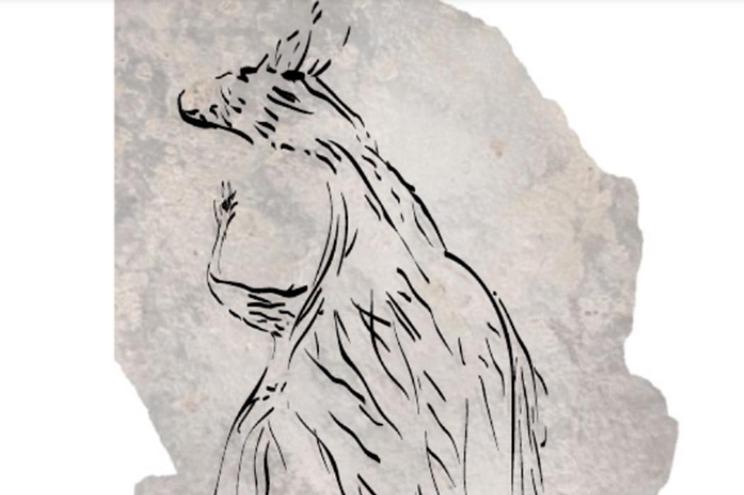 A pintura rupestre mais antiga da Austrália tem mais de 17 mil anos e mostra um canguru