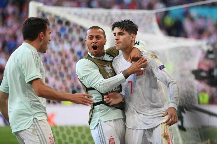 A Espanha venceu este esta segunda-feira