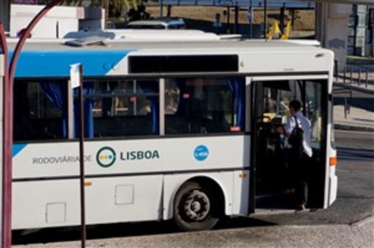 Autocarro da Rodoviária de Lisboa