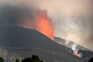 Lava do vulcão de La Palma já atingiu quase 500 edifícios e cobriu 212 hectares