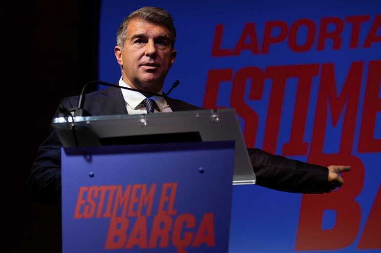 Joan Laporta é um dos candidatos às eleições do Barcelona
