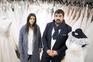 Telmo Gomes e Maria Ines Gomes têm dezenas de vestidos para entregar