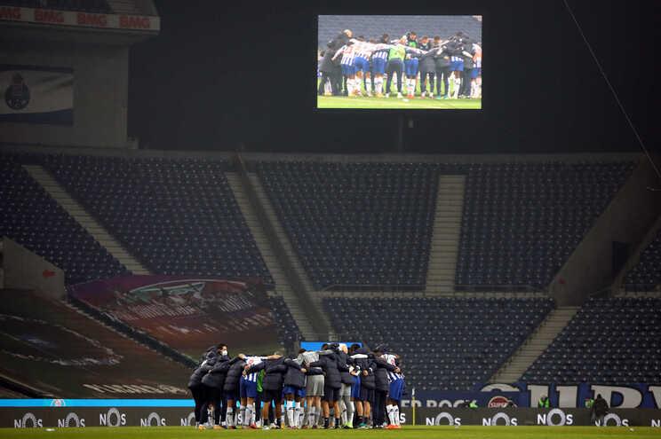 O F. C. Porto defronta o Chelsea