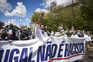 Manifestação promovida pelo Chega no último fim de semana