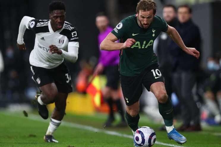 Tottenham venceu no recinto do Fulham