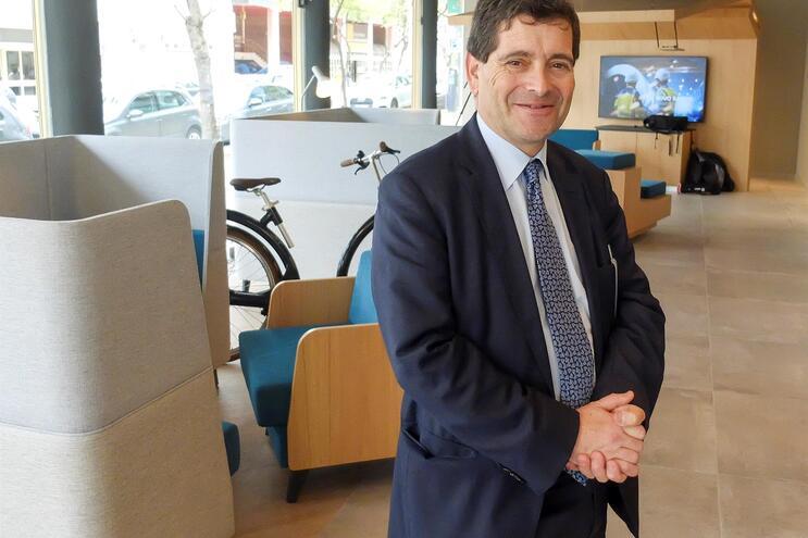 António Ramalho, presidente executivo do Novo Banco