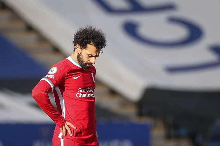 O Liverpool perdeu este sábado