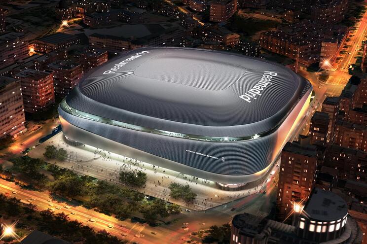 O novo estádio do Real Madrid deverá estar pronto em finais de 2022