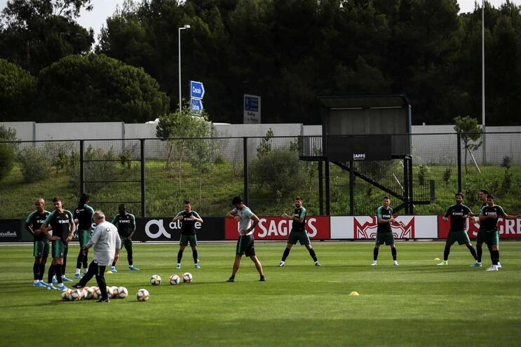 Relvados da Cidade do Futebol, em Oeiras, são usados pela seleção nacional para treinar