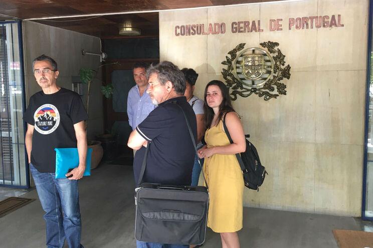 Grupo reuniu esta quinta-feira com o cônsul de Portugal em Moçambique