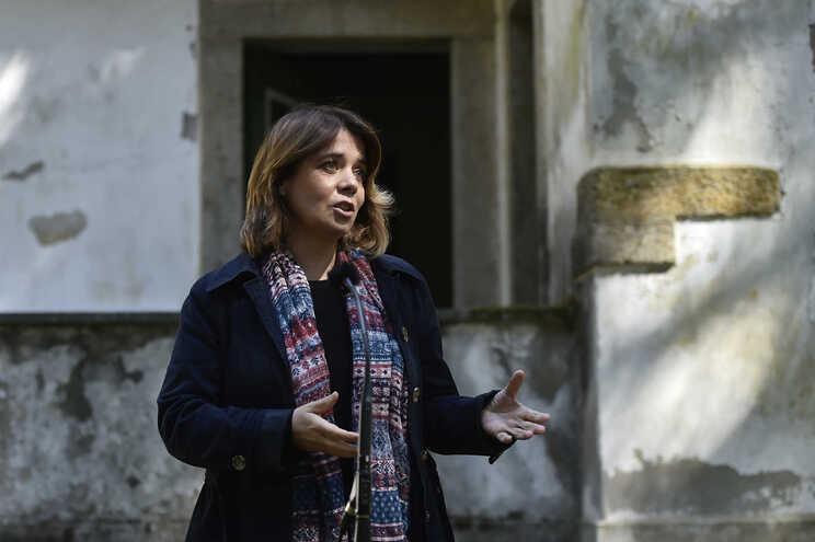 Catarina Martins em Viseu