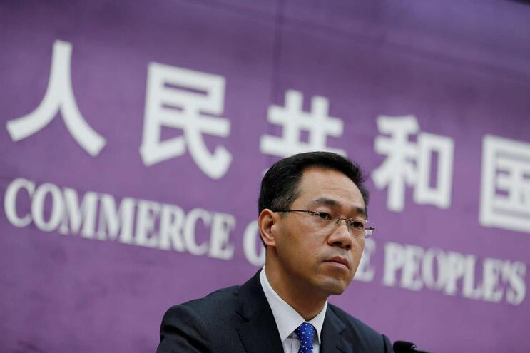 O porta-voz do ministério chinês do Comércio, Gao Feng
