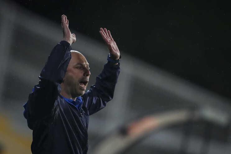 Bruno Pinheiro, treinador do Estoril
