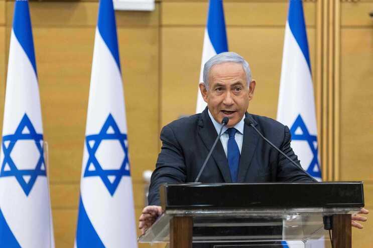 O primeiro-ministro israelita, Benjamin Netanyahu