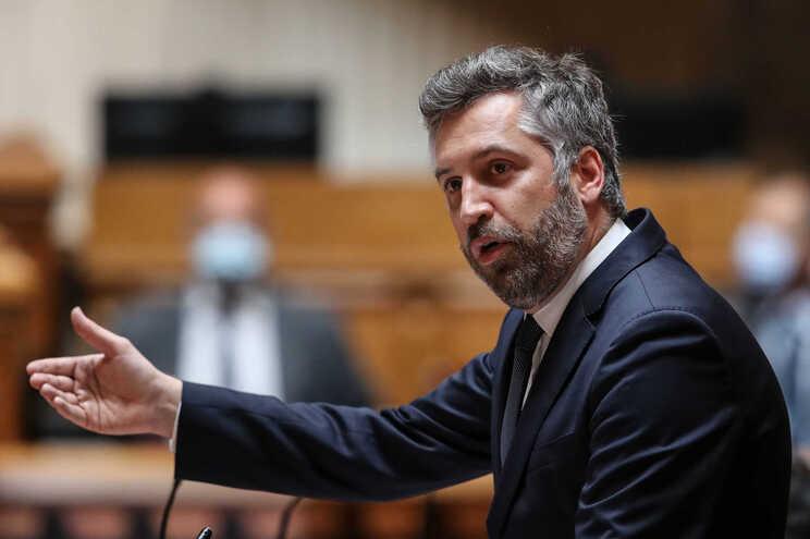Pedro Nuno Santos, na Assembleia da República, esta quarta-feira