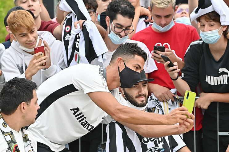 Cristiano Ronaldo regressou à Juventus
