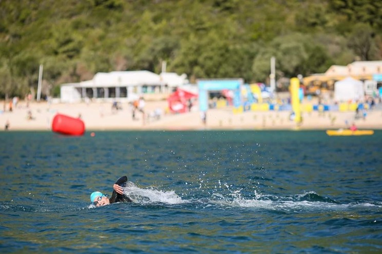 Agente da PSP de Cascais vence 750 metros do Setúbal Open Water Race