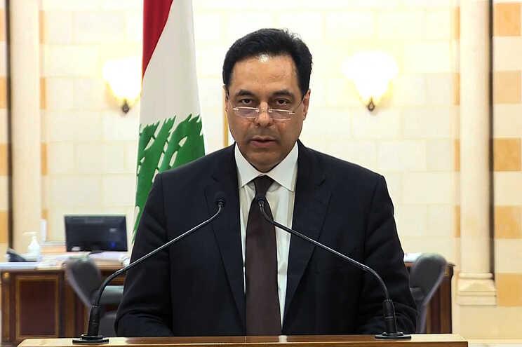 Hassan Diab, primeiro-ministro demissionário do Líbano
