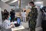 Posto de vacinação instalado no Pavilhão Multiusos em Gondomar