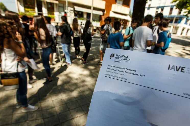 Mais de 62 mil alunos em provas de diagnóstico