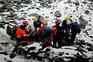 Resgate após avalancha no Equador