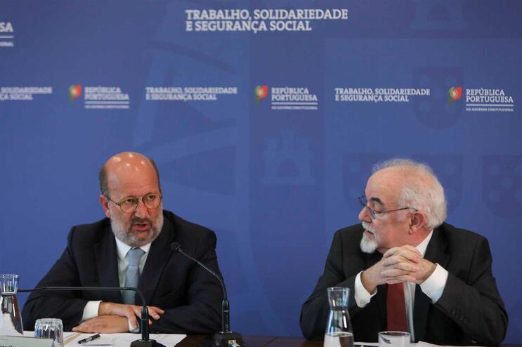 Ministros Matos Fernandes e Vieira da Silva