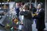 Multidão dos familiares e amigos das vítimas do 11 de Setembro prestam homenagem no 20.º aniversário