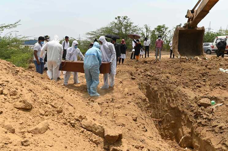 Índia registou o número mais elevado de mortes num dia