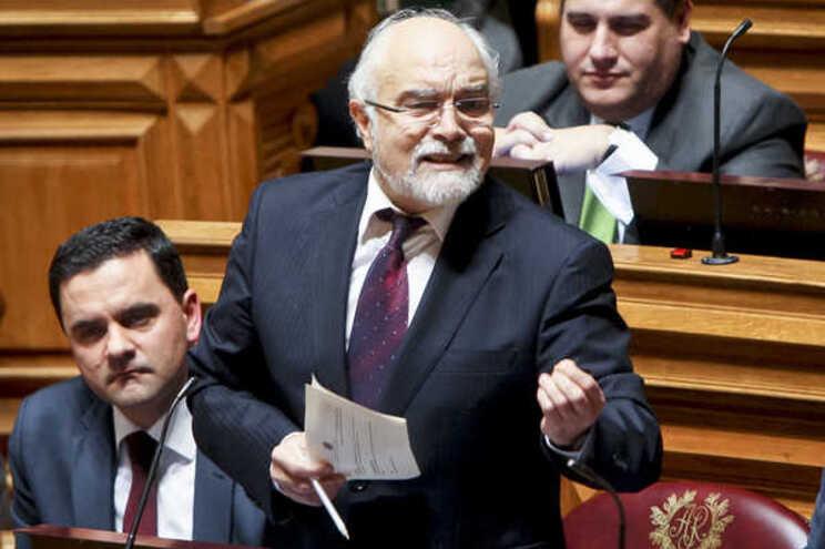 O deputado socialista José Magalhães