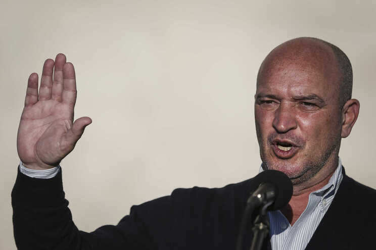 O candidato do Chega à Câmara de Lisboa, Nuno Graciano