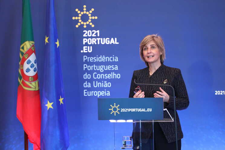 Ministra da Saúde, Marta Temido