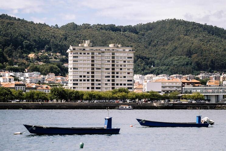 Vista do prédio Coutinho em Viana do Castelo